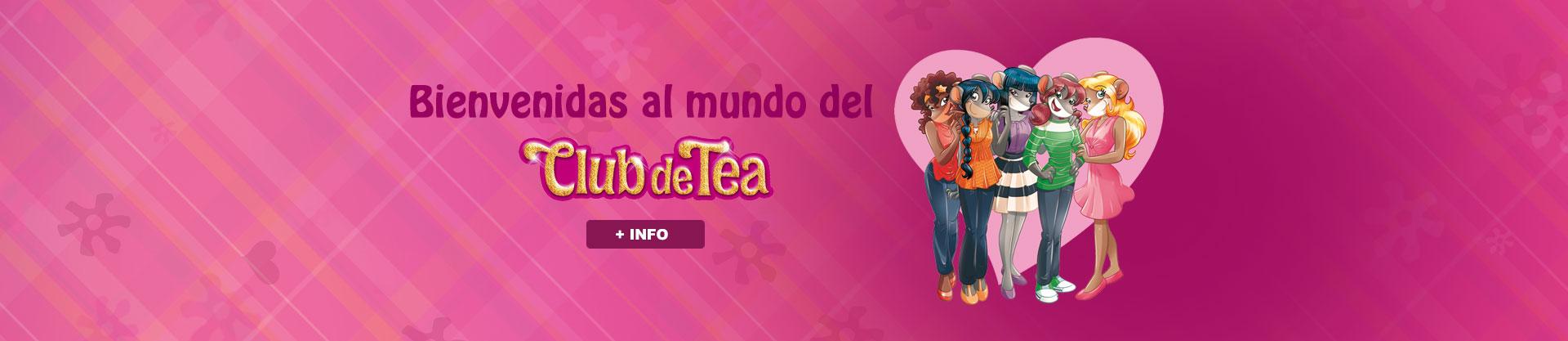 Bienvenidas al mundo del Club de Tea