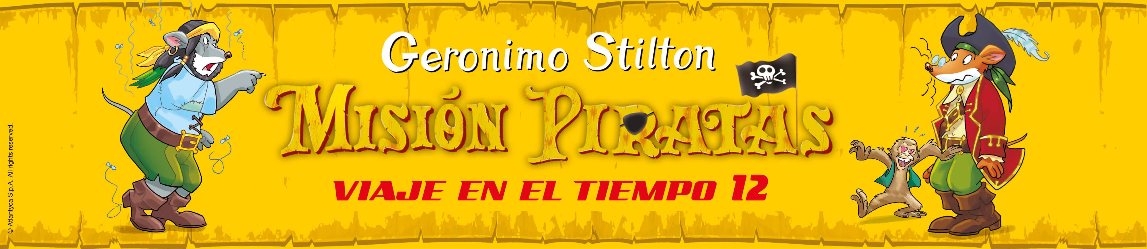 Misión Piratas, Viaje en el Tiempo #12