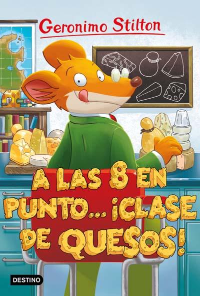 A LAS OCHO EN PUNTO... �CLASE DE QUESOS!