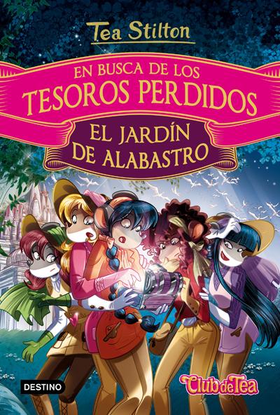 EN BUSCA DE LOS TESOROS PERDIDOS 1. EL JARD�N DE ALABASTRO