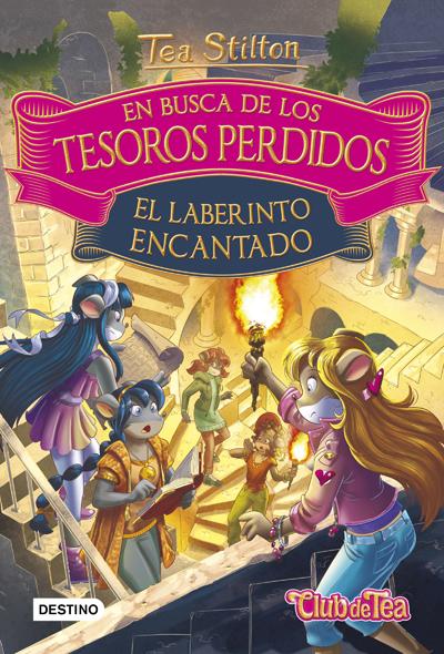 EN BUSCA DE LOS TESOROS PERDIDOS 3. EL LABERINTO ENCANTADO