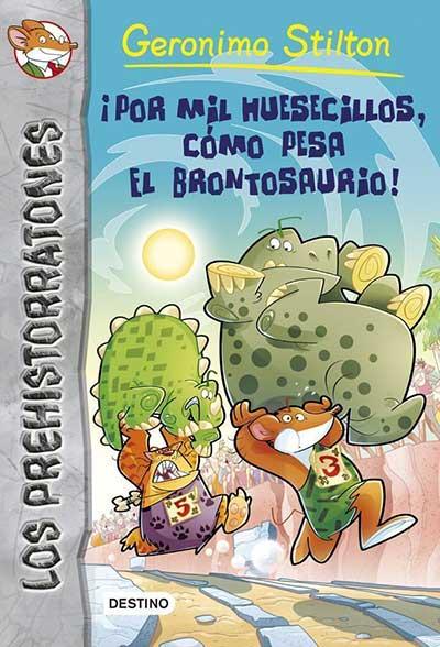 �POR MIL HUESECILLOS, C�MO PESA EL BRONTOSAURIO!